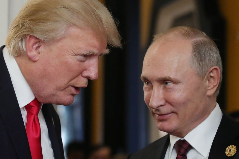 Putin Calls Trump Administration's Release of Russian Oligarch List a 'Hostile Step'