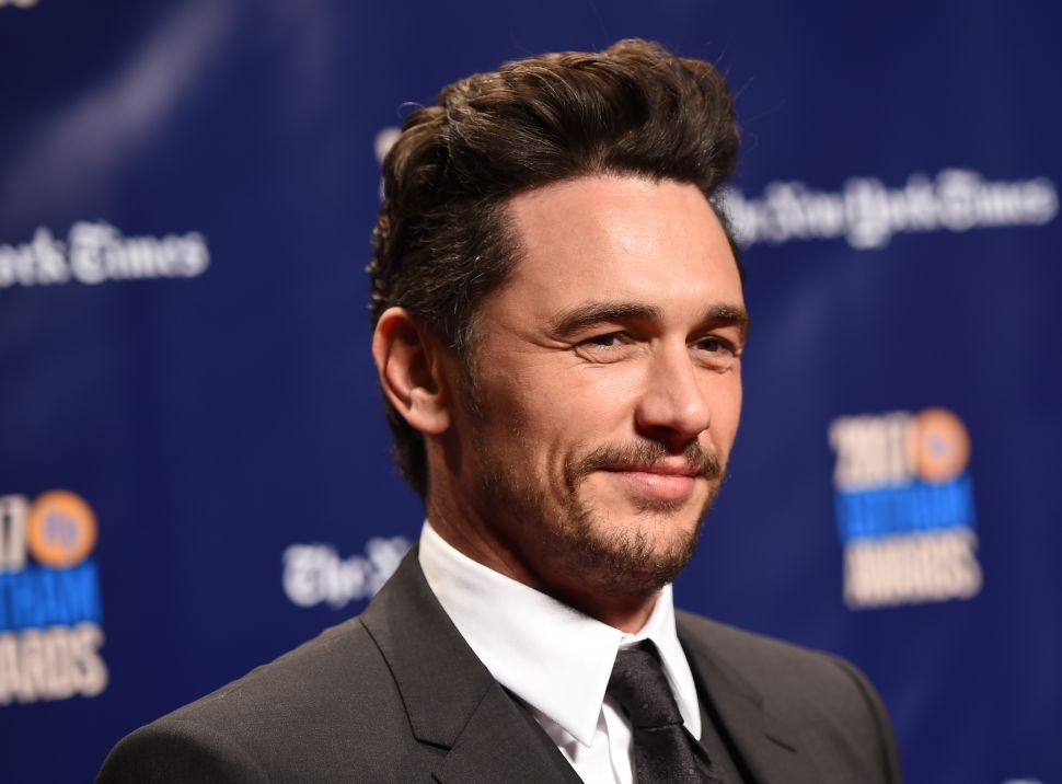 The Next A-List Star to Be Hit With Sexual Misconduct Allegations Is James Franco
