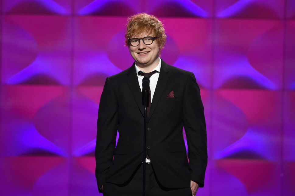 Ed Sheeran Transformed a Suffolk Street Into Sheeranville