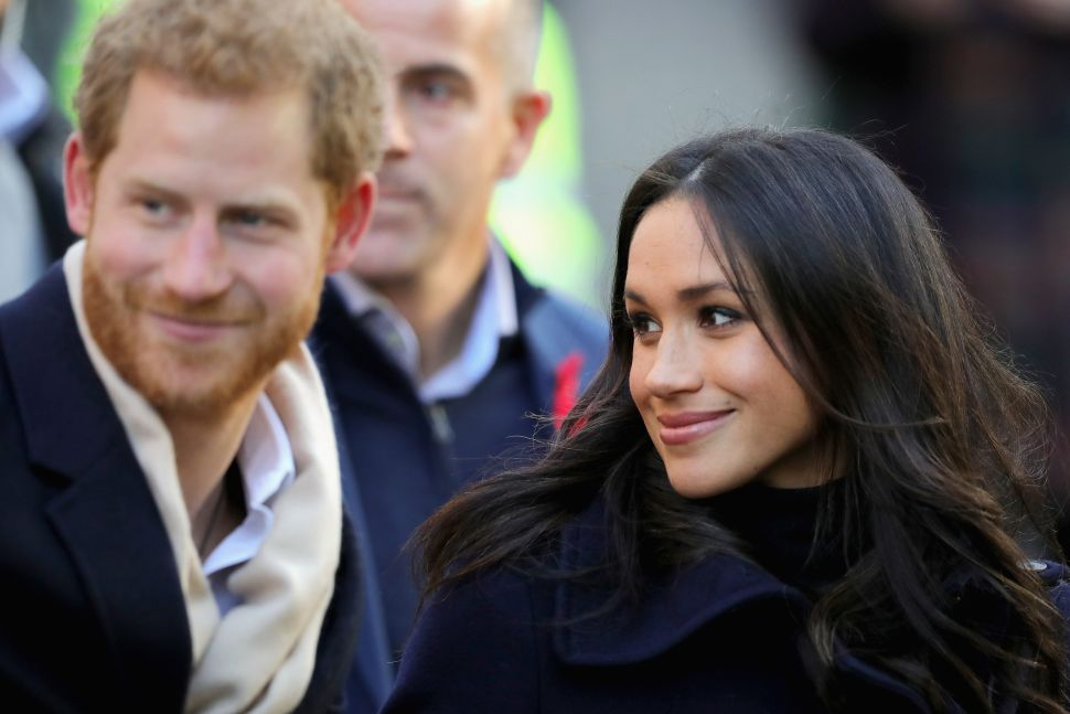 A Baron's Daughter Introduced Prince Harry and Meghan Markle