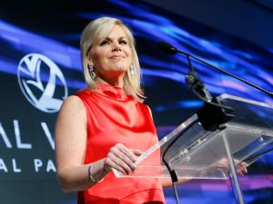 Gretchen Carlson at the Voices of Solidarity Awards.