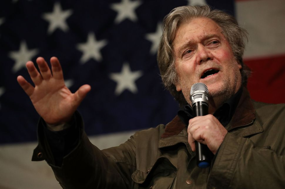 Bannon and Mercer Group Collected Opposition Research Exposing Trump Mafia Ties