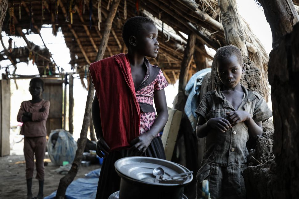 South Sudan's Civil War Puts 250,000 Children at 'Imminent Risk of Death'