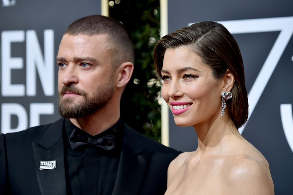 Justin Timberlake's Tone-Deaf Tweet Was Trending During the Golden Globes