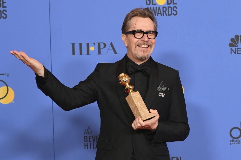 Gary Oldman Wins Golden Globe…After Blasting Awards Show in 2014