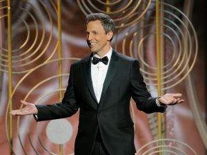 Golden Globes TV Ratings Seth Meyers