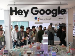 Google had a big presence at CES this year.