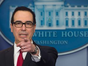 Secretary of Treasury Steven Mnuchin.