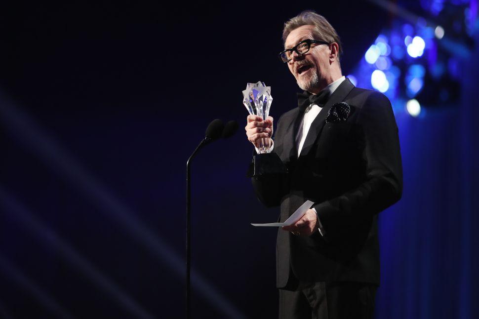 Oscar Favorite Gary Oldman on Preparing for 'Darkest Hour'