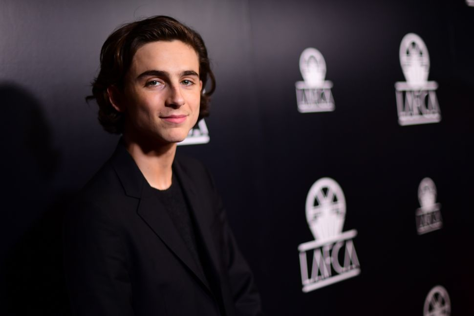 Timothée Chalamet Makes Statement by Promising to Donate Salary from Woody Allen Film