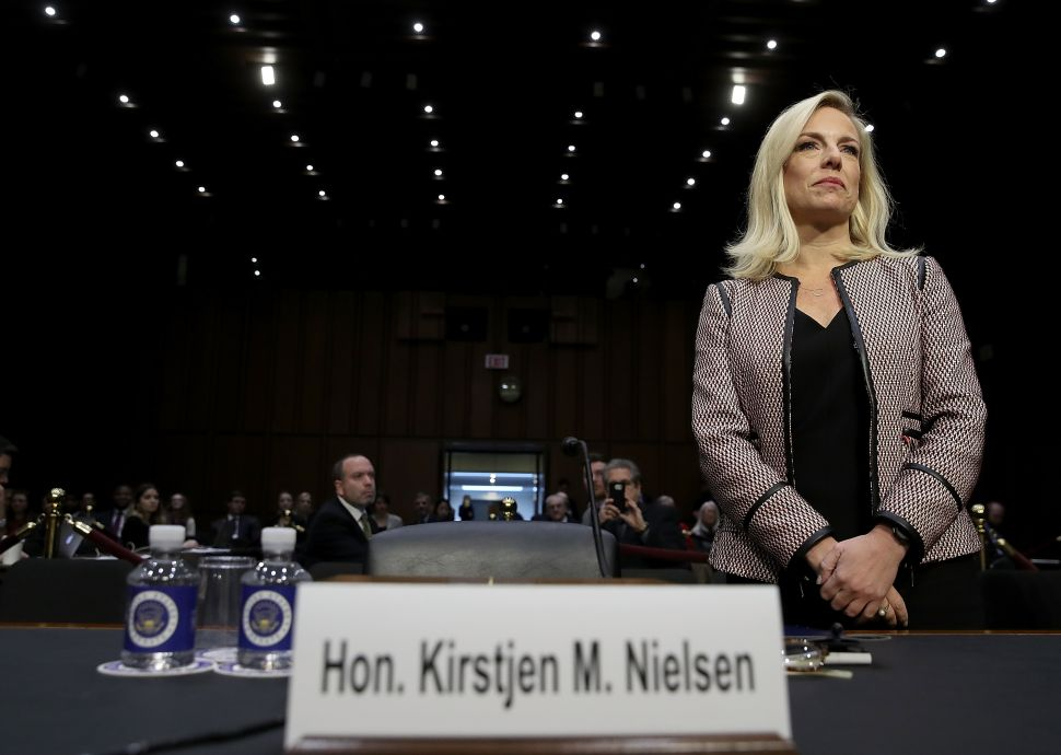 Cory Booker and Kamala Harris Grill Kirstjen Nielsen Over Trump's Racial Remarks