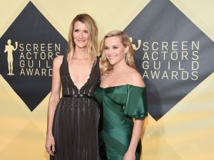 Laura Dern and Reese Witherspoon.