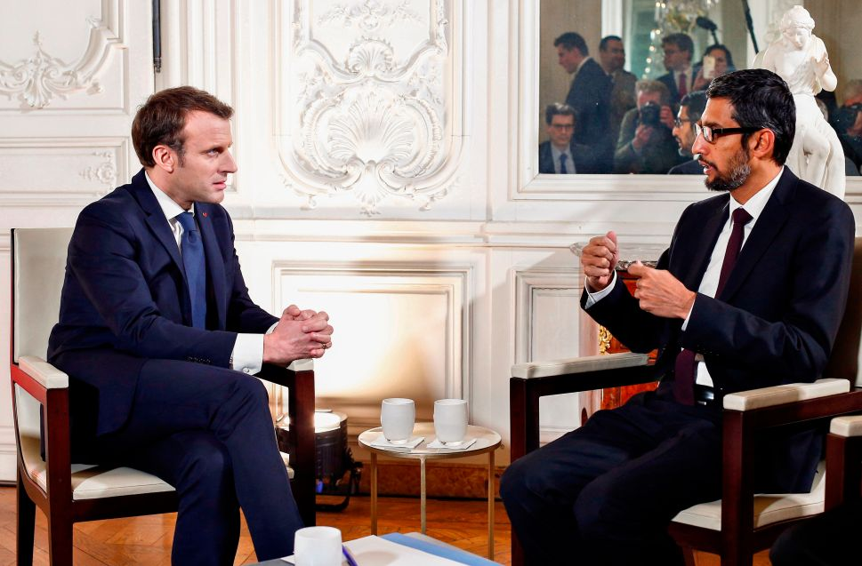 French AI, Education Programs from Facebook and Google Could Impact Davos