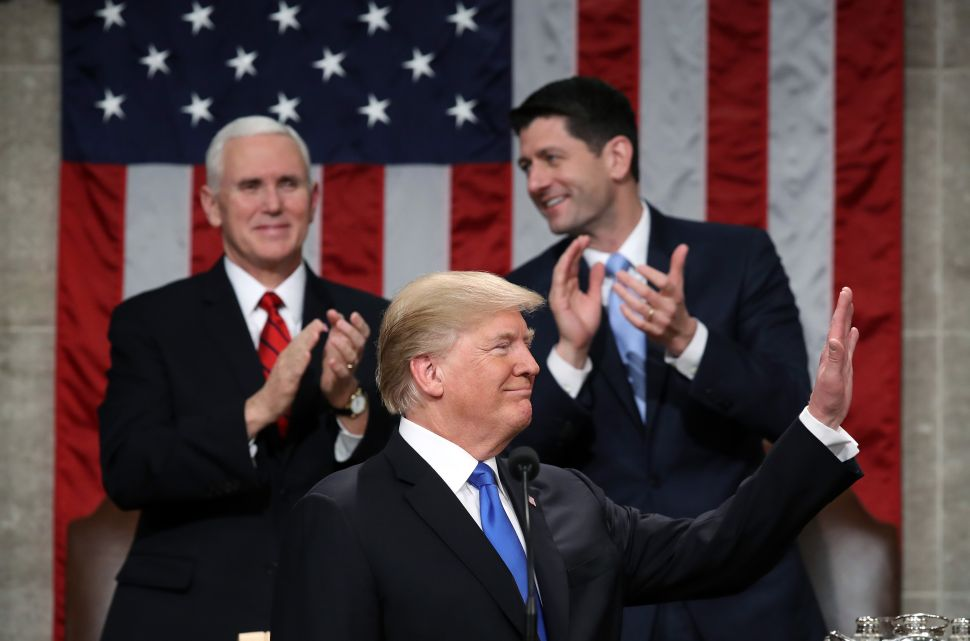 Trump Triumphs in His State of the Union Address