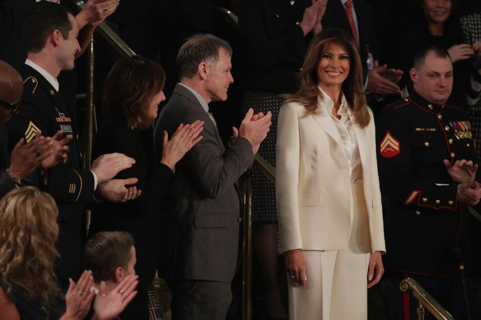 Melania Trump Didn't Support American Designers at the State of the Union Address