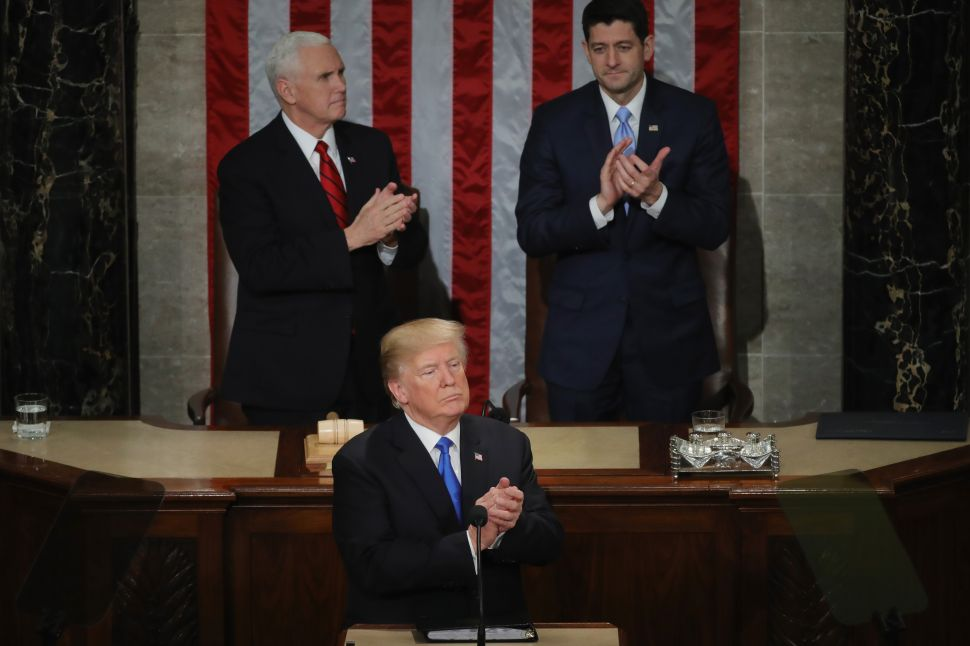 Ugly Undertones Shade Trump's State of the Union