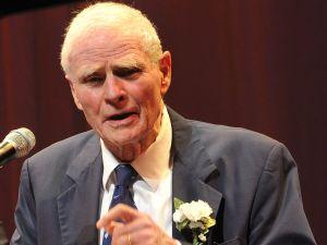 Former Gov. Brendan Byrne.