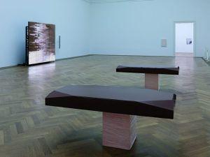 Installation view of 'Shahryar Nashat, The Cold Horizontals,' September 29, 2017 - January 7, 2018, at Kunsthalle Basel.