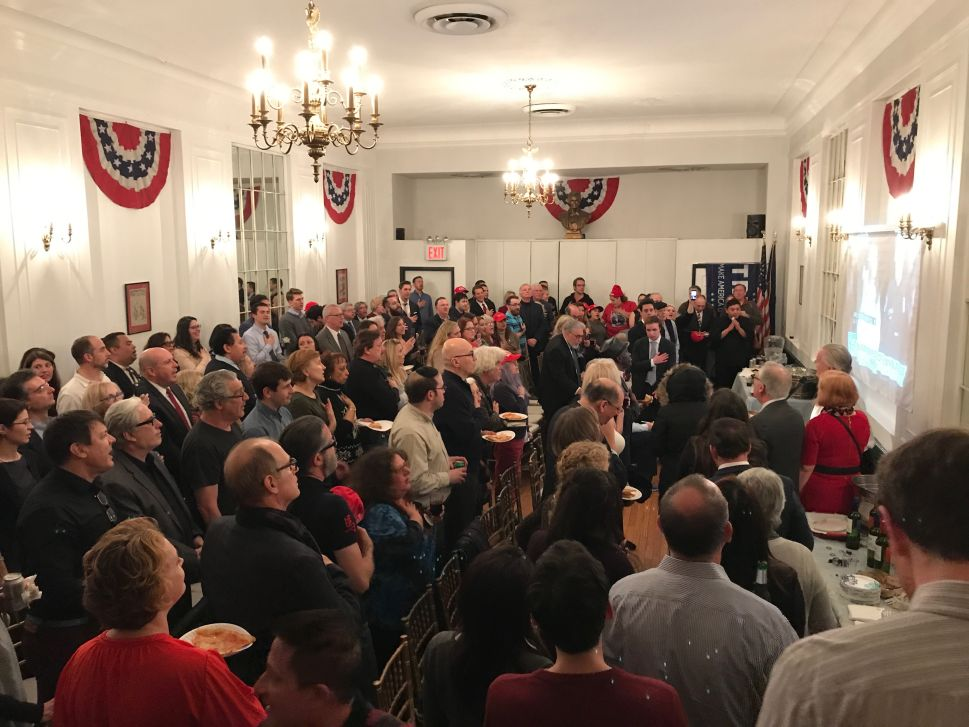 Trumpism Hits NYC's Metropolitan Republican Club During State of the Union