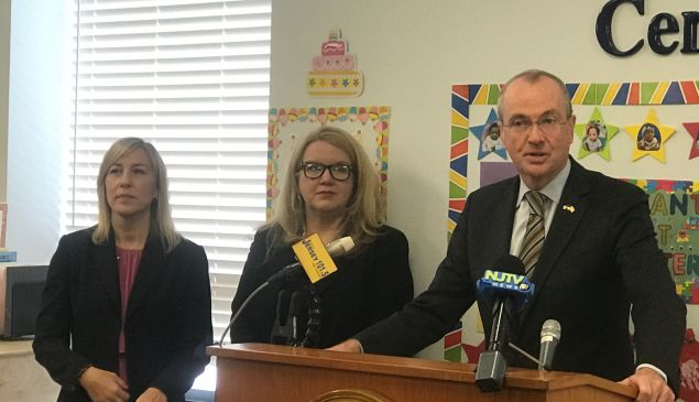 From left: Christine Norbut Beyer, Carole Johnson and Phil Murphy.