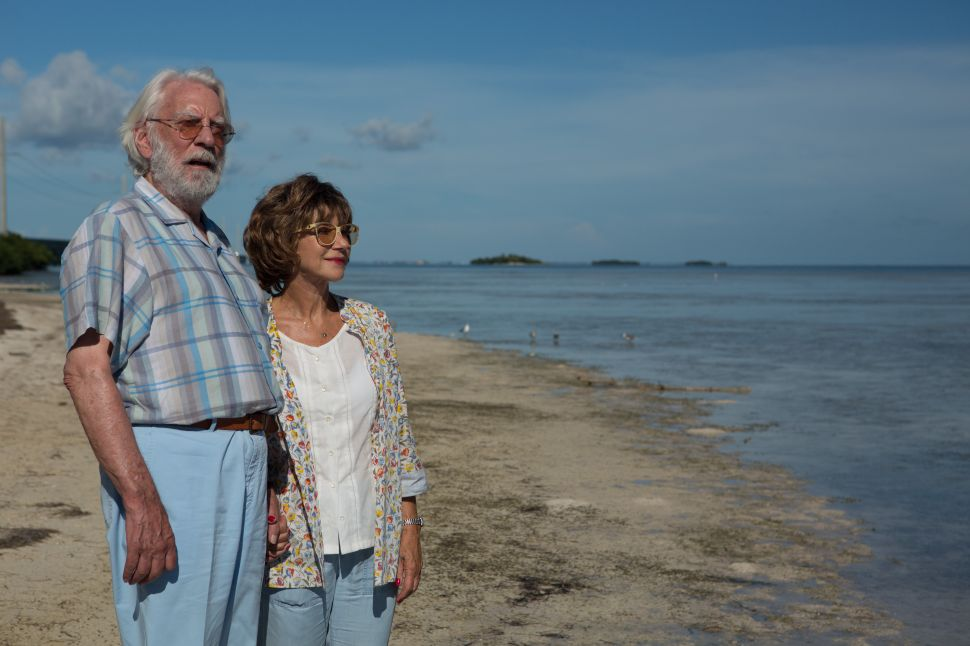 Donald Sutherland and Helen Mirren Made a Mistake With 'The Leisure Seeker'