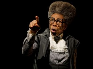 André De Shields in Mankind.