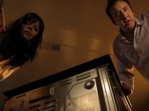 Nicolas Cage and Selma Blair in Mom and Dad.