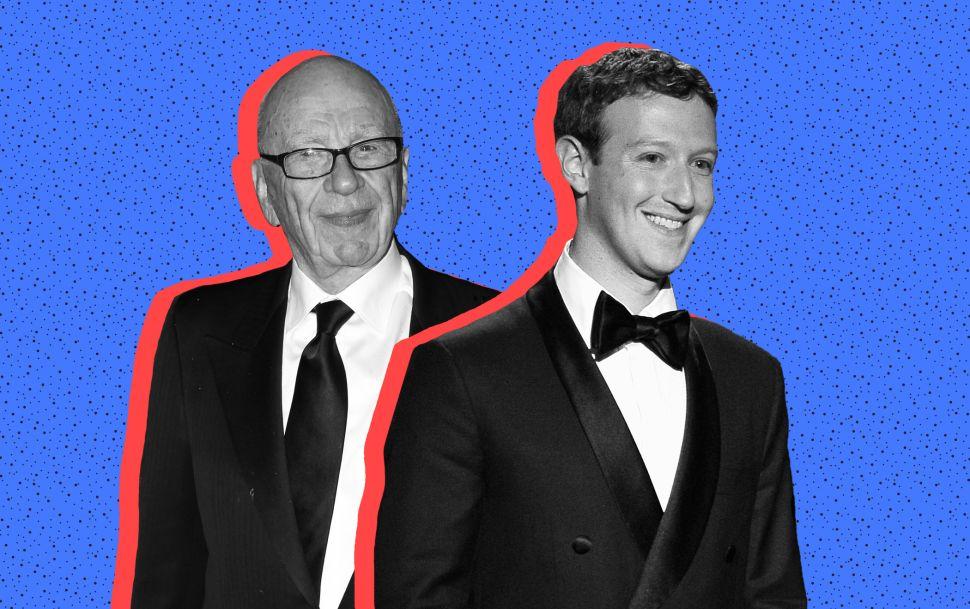 Rupert Murdoch Offers Advice to Mark Zuckerberg on the Topic of News