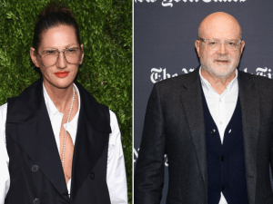 Jenna Lyons and Mickey Drexler.