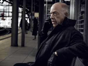 J.K. Simmons in Counterpart.
