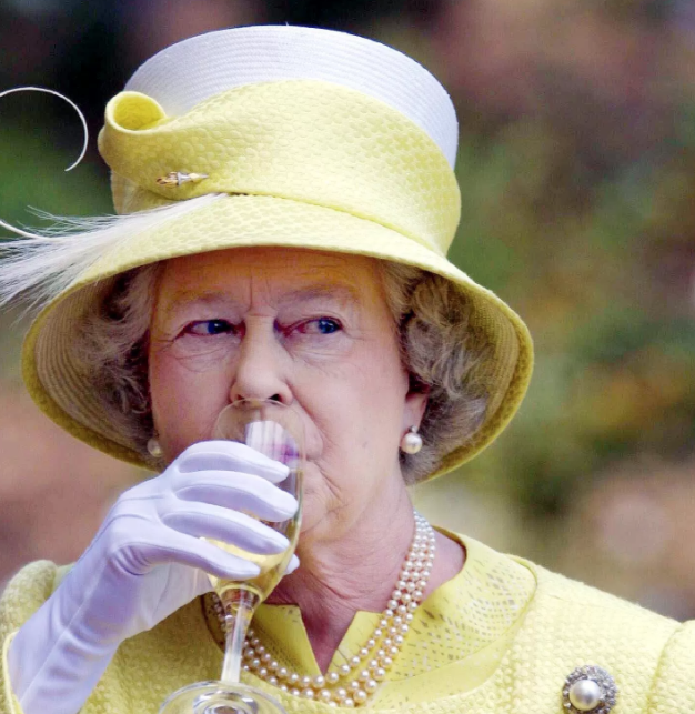 Queen Elizabeth's Bubbly of Choice Is Perfect for Valentine's Day
