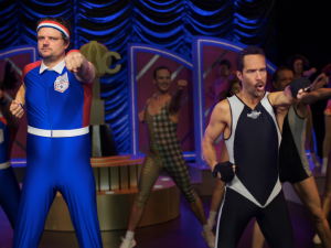 Matt Jones and Chris Diamantopoulos star in Let's Get Physical.