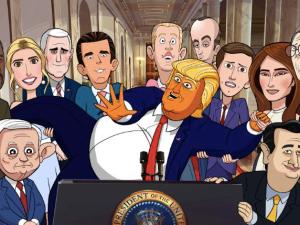 Our Cartoon President.