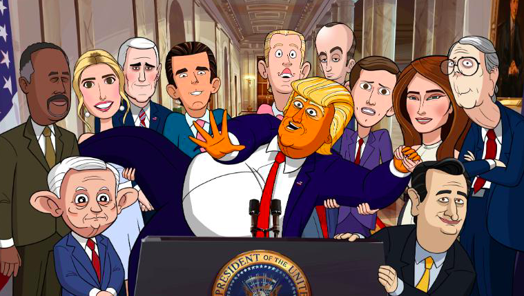 Stephen Colbert on Why He Needed to Make 'Our Cartoon President'