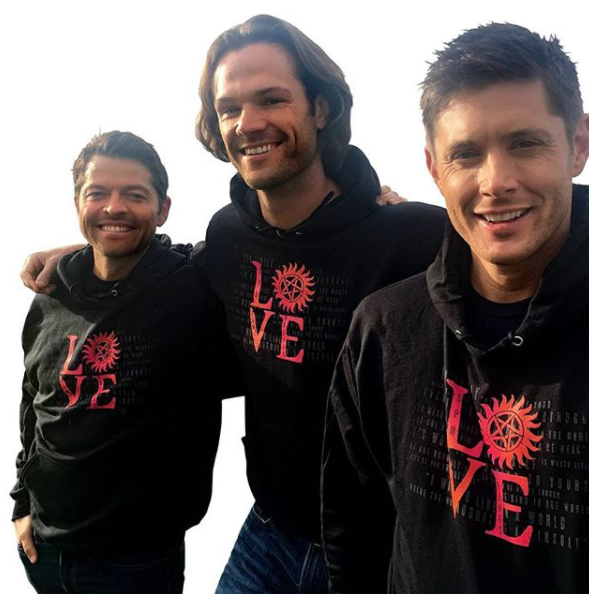 Stands works with shows like Supernatural to create custom merch for a cause.