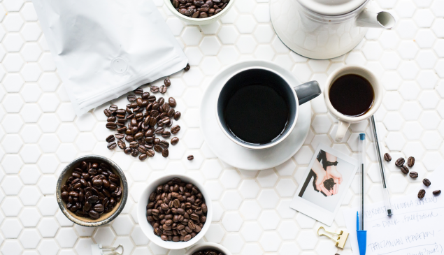 The healthiest way to drink coffee is black.