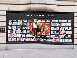 The façade of Sonia Rykiel's Manhattan flagship store.
