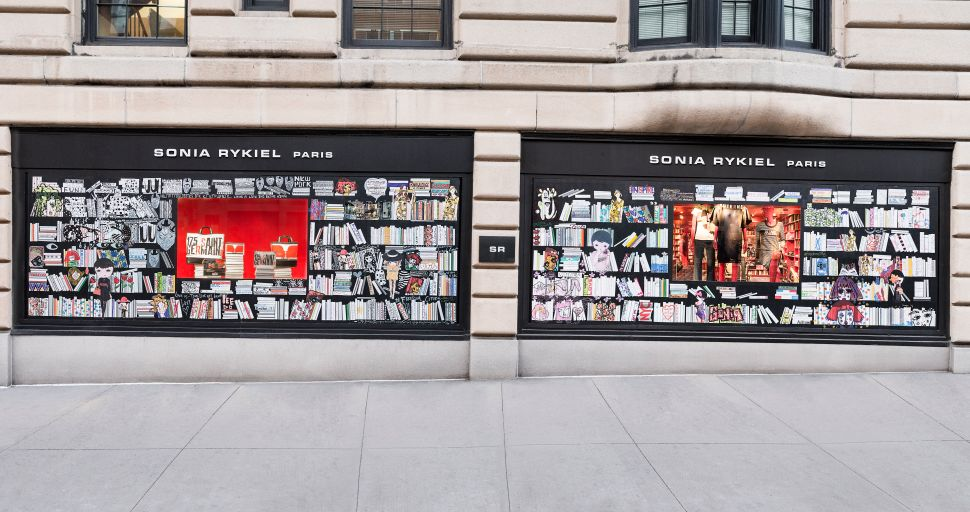 Sonia Rykiel Celebrates 50 Years In Business With Books and Street Art