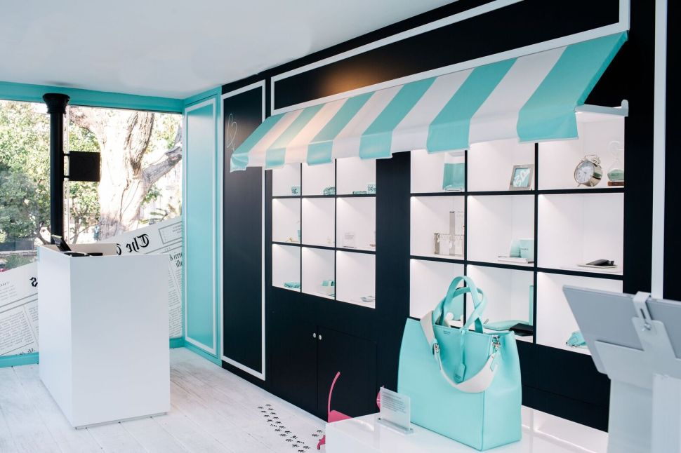 Tiffany's Iconic Little Blue Box Is Popping Up at The Grove