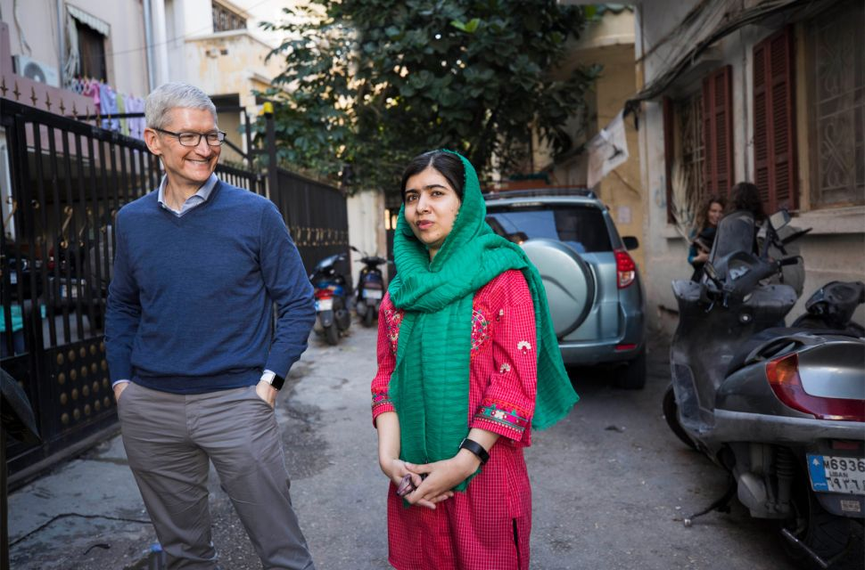 Apple and Malala Yousafzai Team Up to Fund Girls' Education