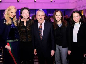Gabrielle Bacon, Diana Taylor, Diana Taylor, Thomas L. Friedman, Michele Sacconaghi, at The Boys' Club of New York Ninth Annual Winter Luncheon.
