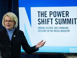 Jill Geisler at the Power Shift Summit.
