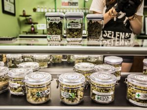 The first day of the legalization of recreational marijuana sales in California was on Jan. 1, 2018.