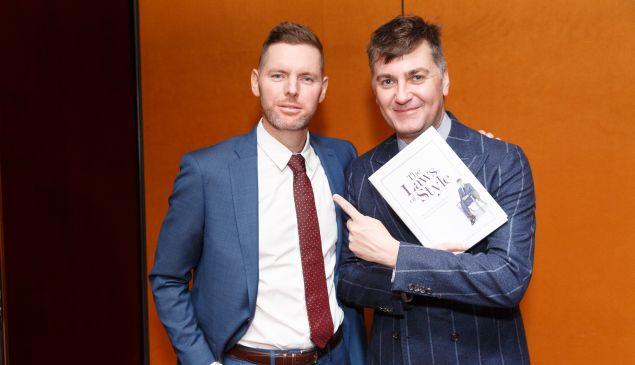 Douglas Hand and Euan Rellie.