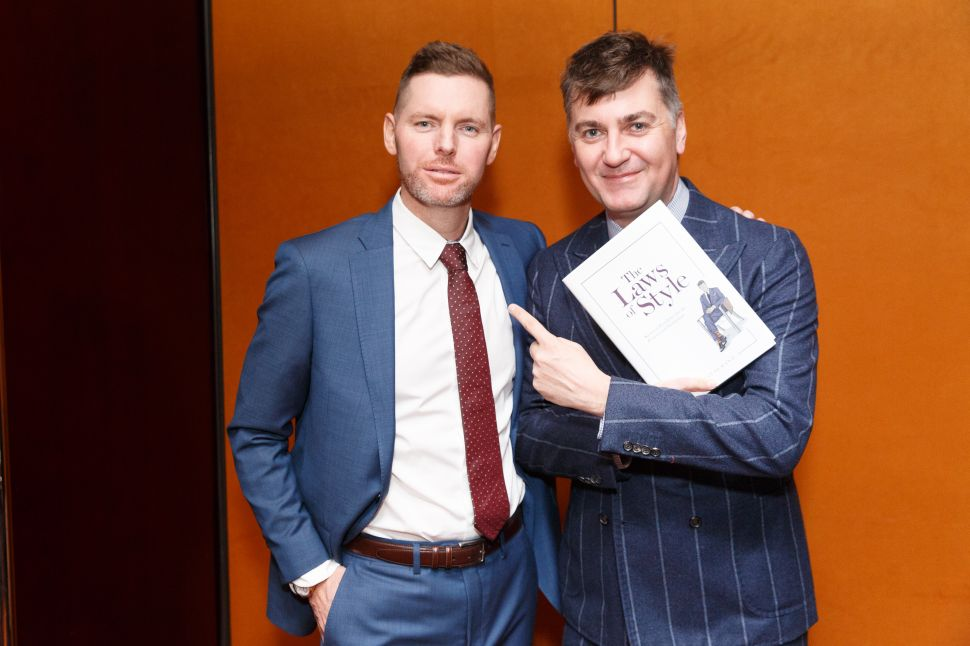 Fashion Lawyer Douglas Hand Wants His Fellow Attorneys to Dress Better