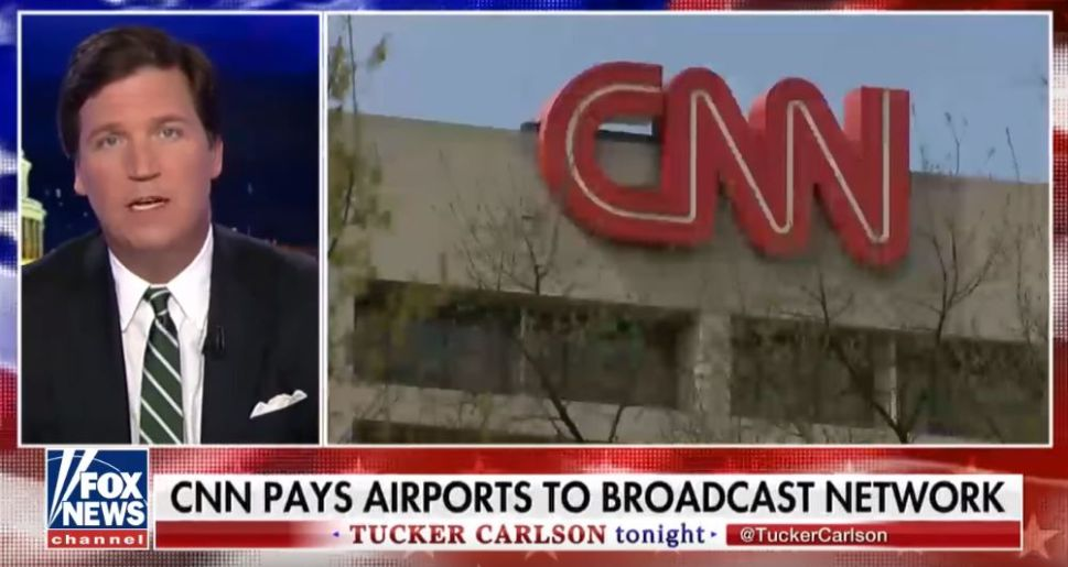 Here's Why CNN Is Always Playing at the Airport