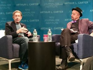 Pete Hamill and James McBride.