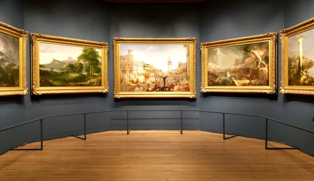 Thomas Cole's Course of the Empire series.
