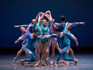Lauren King, center, in Dance Odyssey.