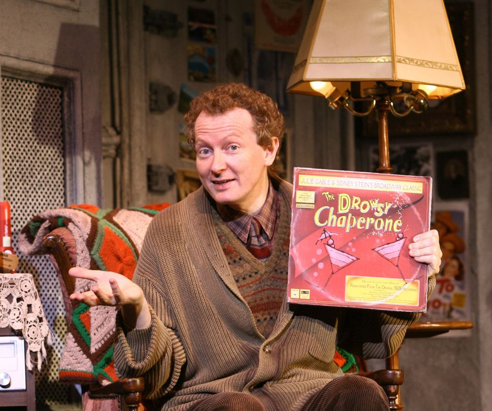 Bob Martin Reprises His Award-Winning 'Drowsy Chaperone' Character at City Center